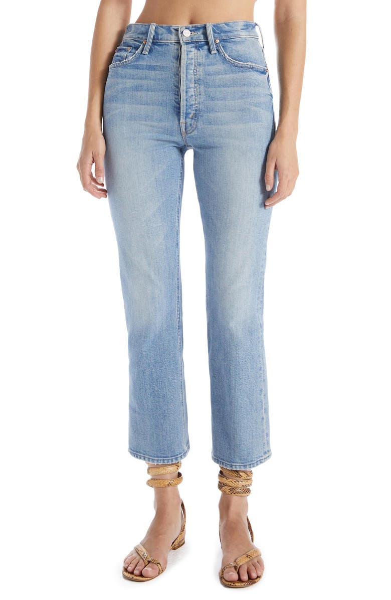 MOTHER The Tripper Crop Bootcut Jeans, Main, color, I CONFESS