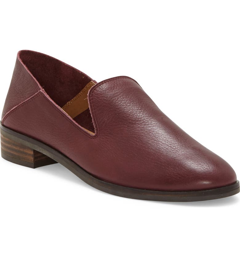 LUCKY BRAND Cahill Flat, Main, color, SUGAR RED LEATHER