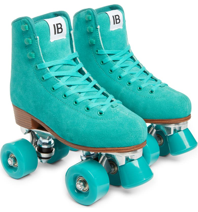 INTENTIONALLY BLANK Rink Roller Skates, Main, color, TURQUOISE