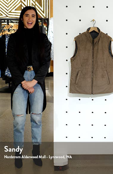 Reversible Quilted Vest, sales video thumbnail
