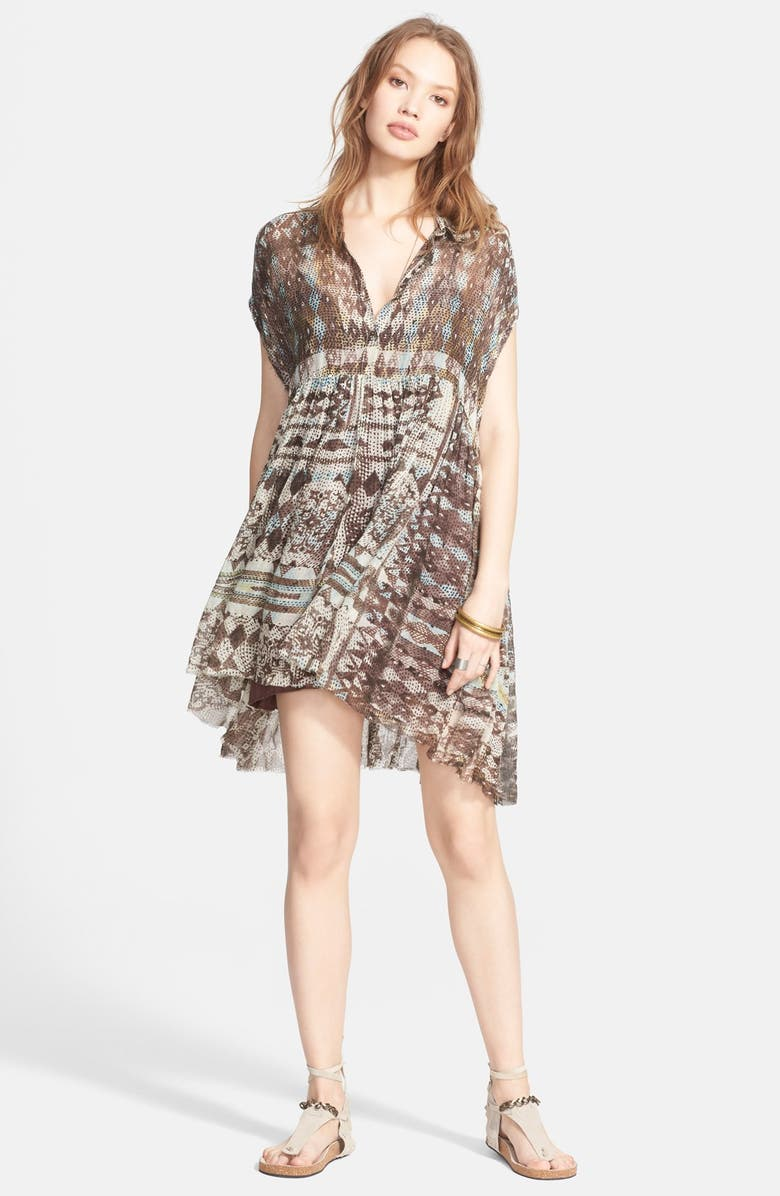 FREE PEOPLE Extreme Shirtdress, Main, color, 020