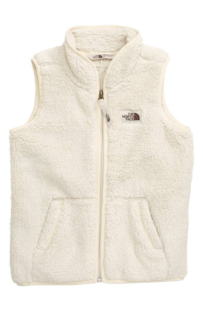 THE NORTH FACE Campshire Fleece Vest, Main, color, 100