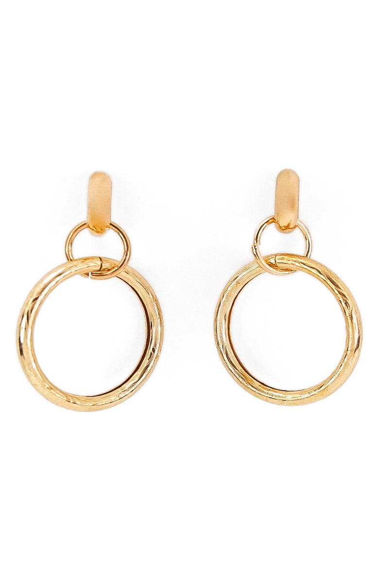 PETIT MOMENTS Valerie Drop Earrings, Main, color, GOLD