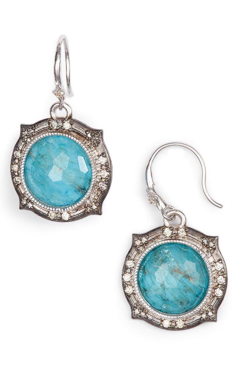 ARMENTA New World Apatite Doublet Earrings, Main, color, 400