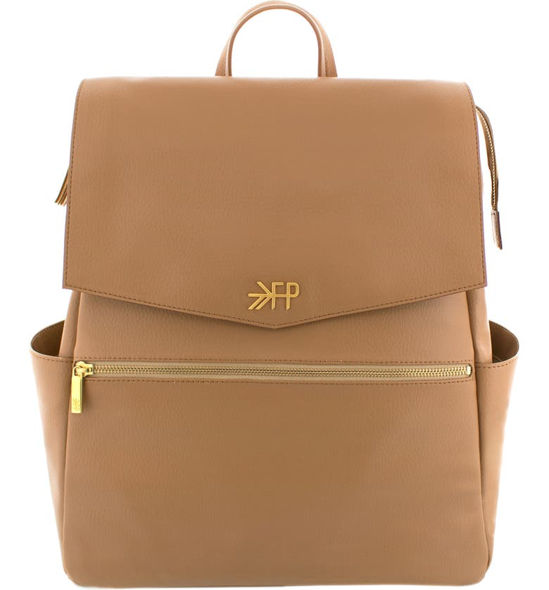 FRESHLY PICKED Convertible Diaper Backpack, Main, color, BUTTERSCOTCH