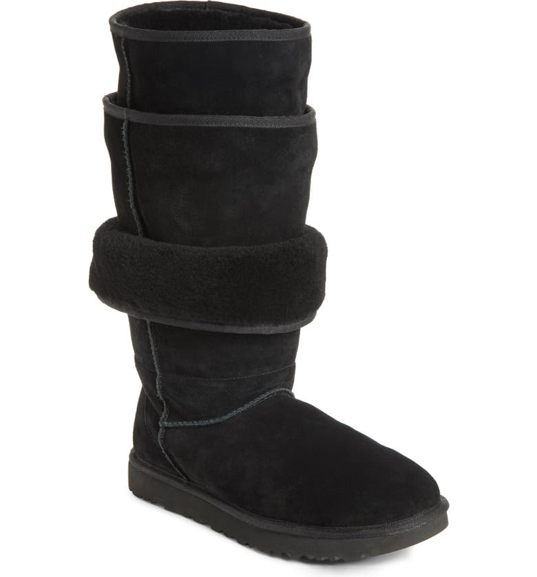 Y/PROJECT x UGG<sup>®</sup> Layered Boot, Main, color, NOIR