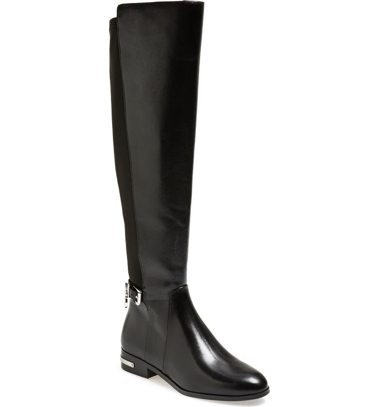 MICHAEL MICHAEL KORS 'Aileen' Leather Boot, Main, color, 001