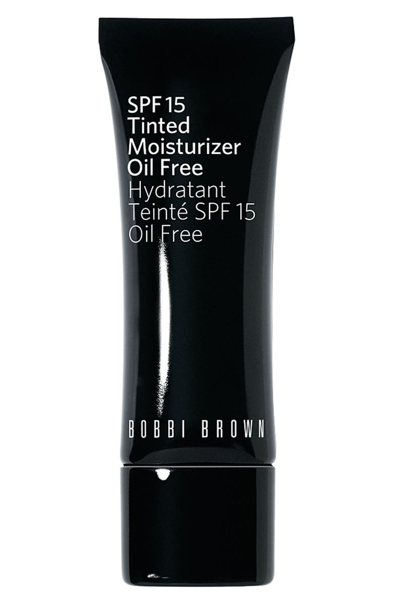 BOBBI BROWN Oil Free Tinted Moisturizer SPF 15, Main, color, 001