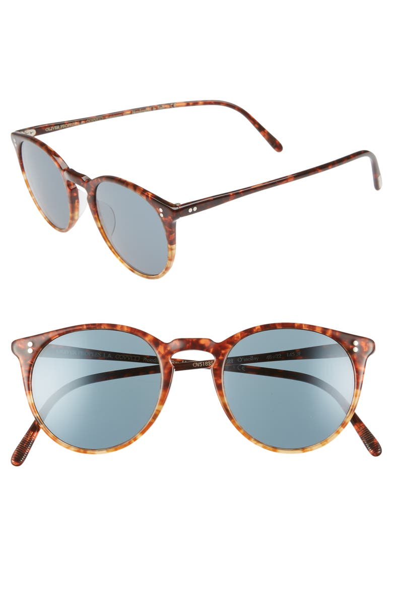 OLIVER PEOPLES O'Malley 48mm Sunglasses, Main, color, 200