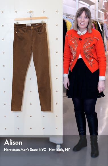 Le High Skinny Sateen Jeans, sales video thumbnail