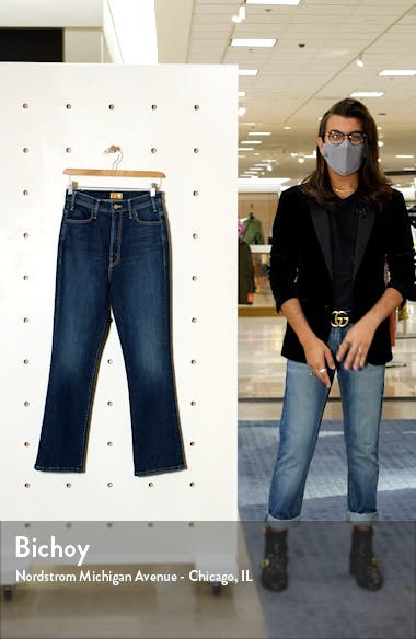 The Hustler High Waist Ankle Bootcut Jeans, sales video thumbnail