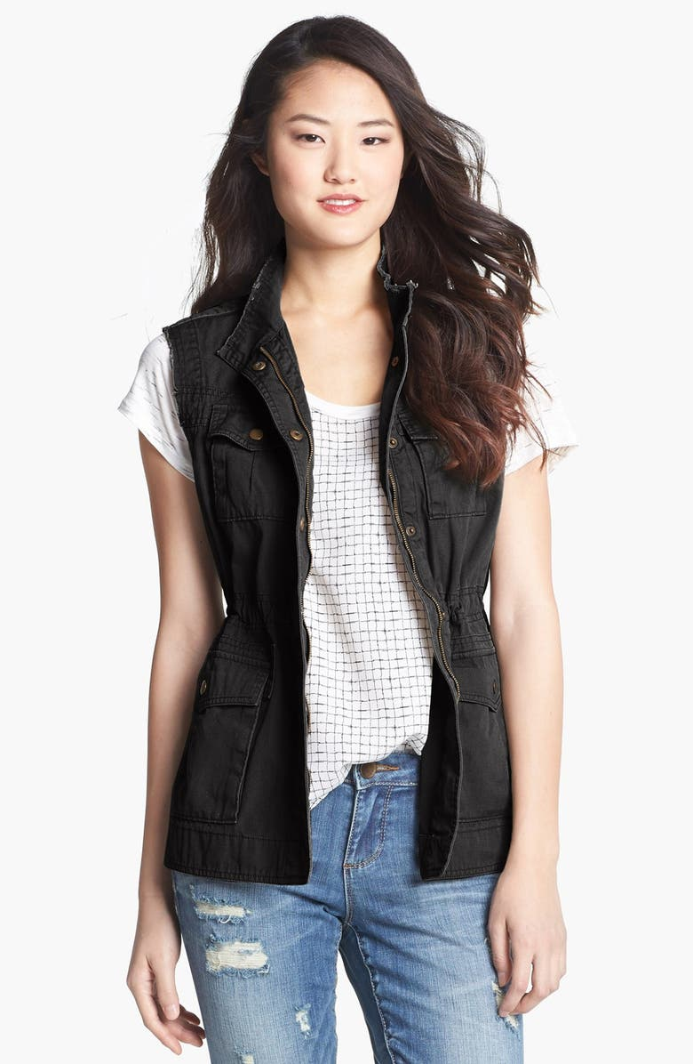 AMBITION Military Vest, Main, color, 001