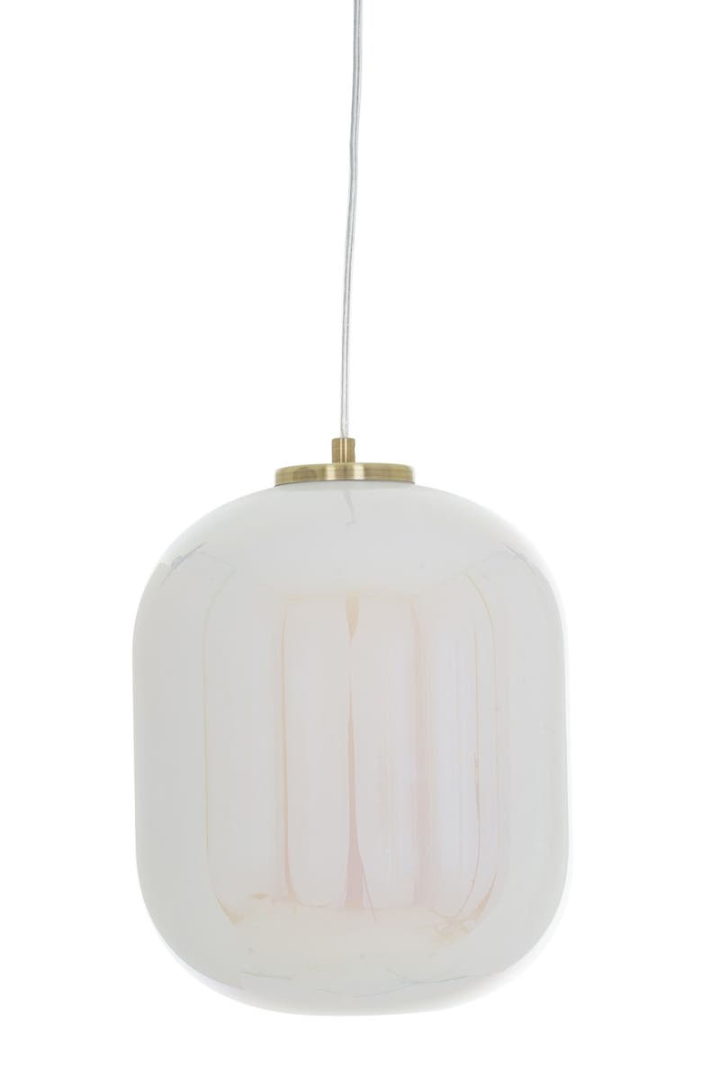 CUPCAKES AND CASHMERE Iridescent Pendant Lamp, Main, color, 710