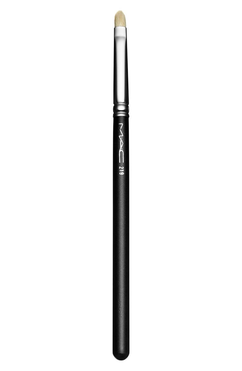 MAC COSMETICS MAC 219 Pencil Brush, Main, color, 000