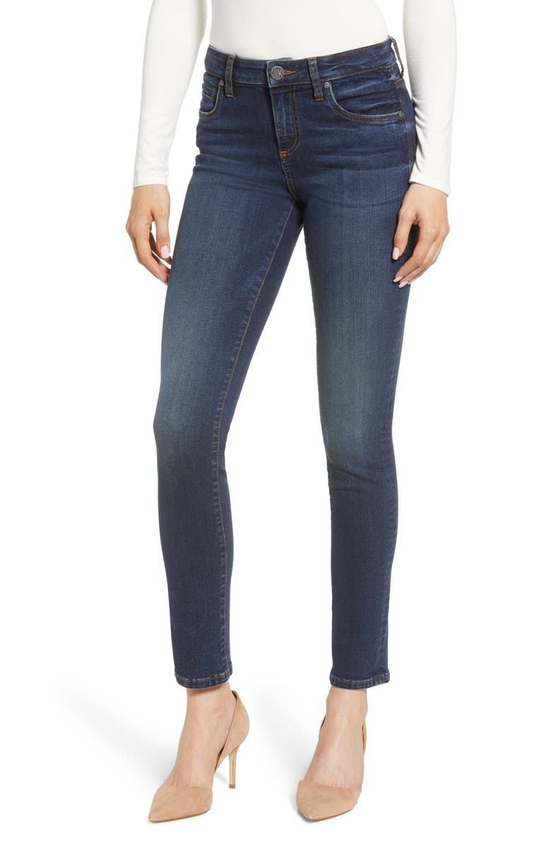 KUT FROM THE KLOTH Diana Skinny Jeans, Main, color, 400