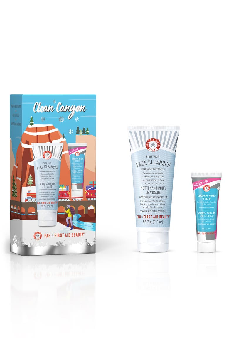 FIRST AID BEAUTY Clean Canyon Skin Care Set, Main, color, NO COLOR