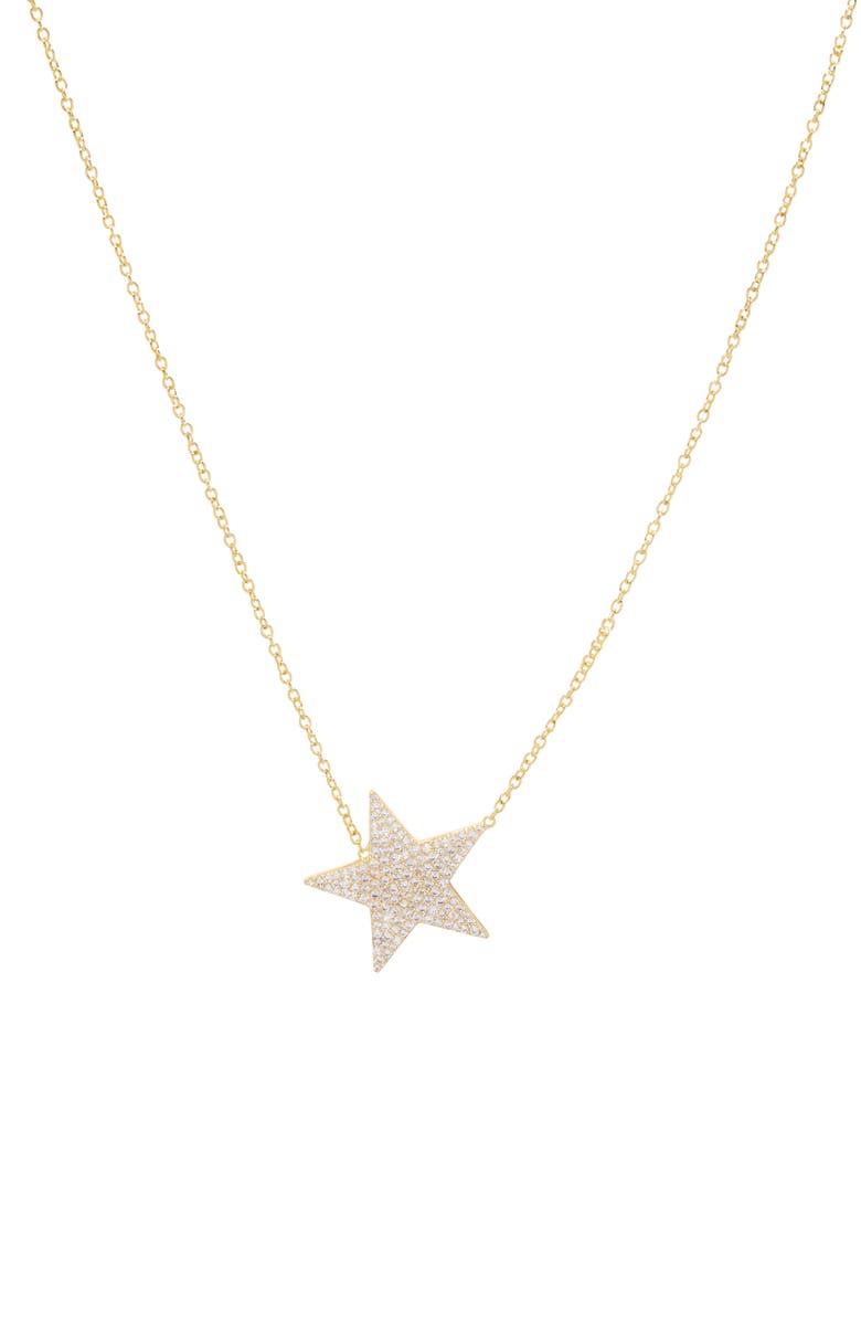 GORJANA Superstar Shimmer Statement Necklace, Main, color, Gold