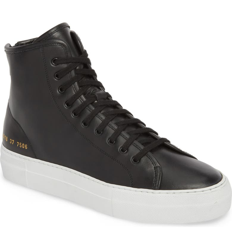 COMMON PROJECTS Tournament High Super Sneaker, Main, color, 008