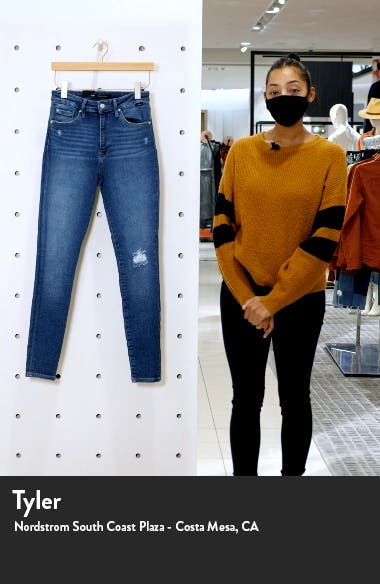Scarlett Ripped Ankle Skinny Jeans, sales video thumbnail