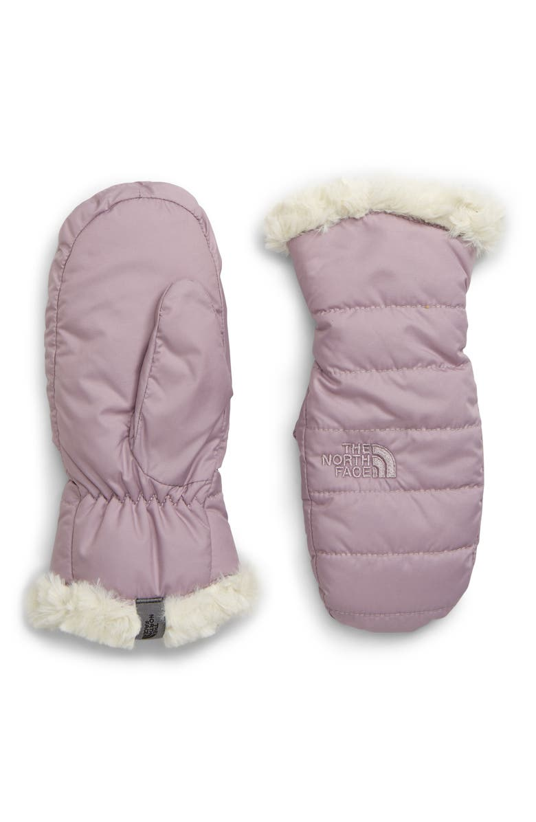 THE NORTH FACE Mossbud Swirl Reversible Water Resistant Heatseeker<sup>™</sup> Insulated Mittens, Main, color, 501