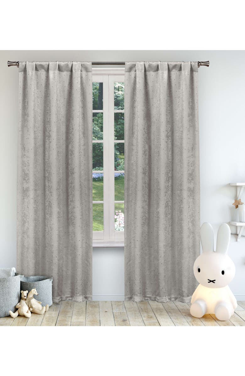 LALA + BASH Danielle Blackout Window Panels, Main, color, 020