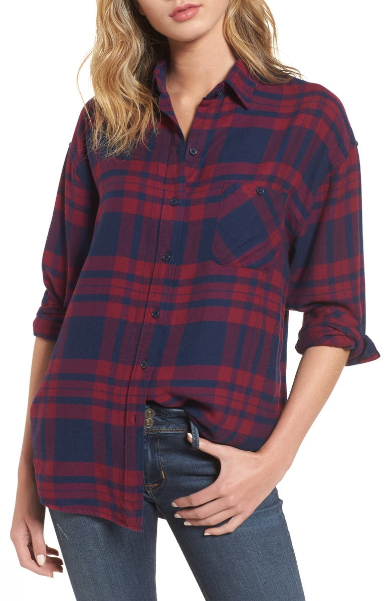 RAILS Brennan Plaid Shirt, Main, color, 933