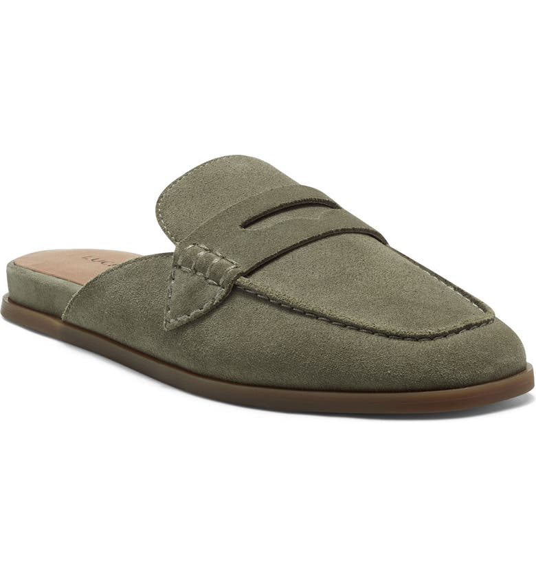 LUCKY BRAND Patsie Mule, Main, color, FOSSILIZED