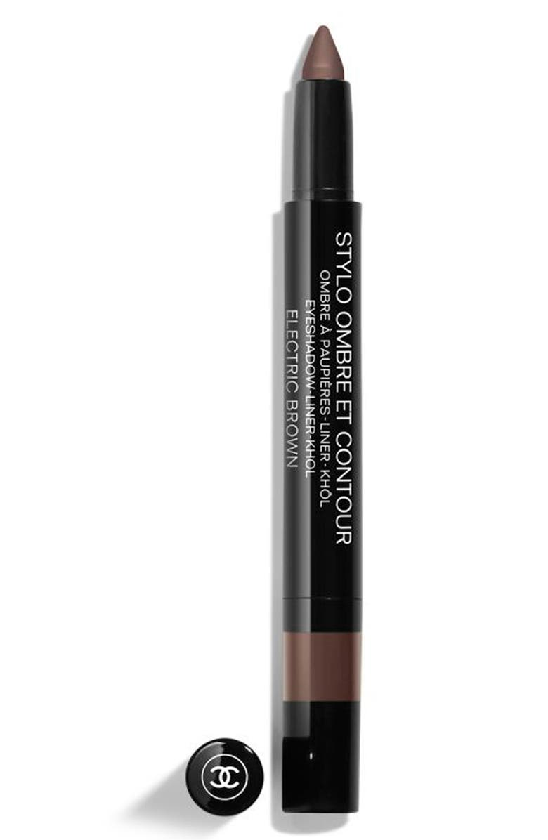 CHANEL STYLO OMBRE ET CONTOUR Eyeshadow Liner Khôl, Main, color, 04 ELECTRIC BROWN