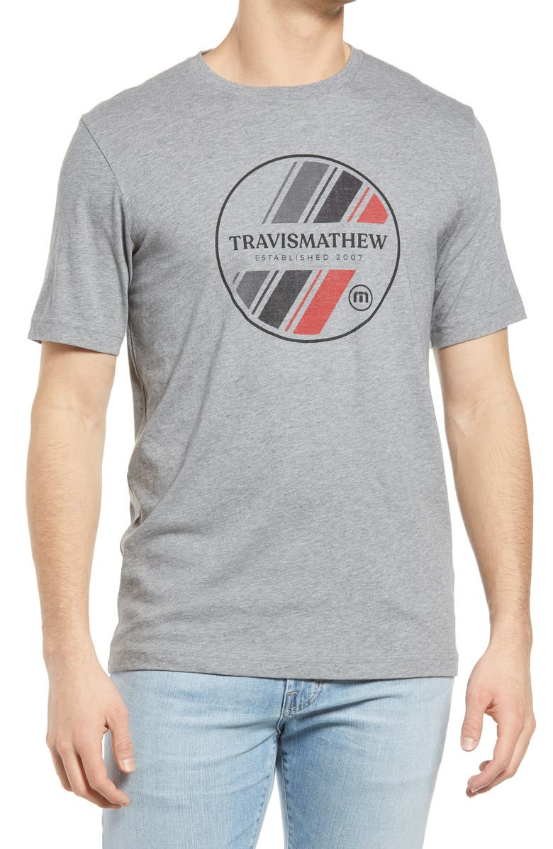 TRAVISMATHEW Men's Shore Line Graphic Tee, Main, color, 020