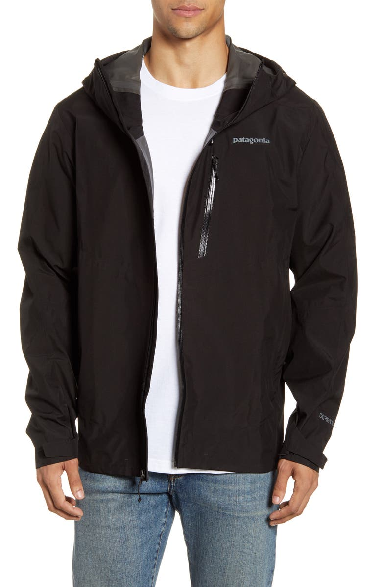 PATAGONIA Calcite Hooded Jacket, Main, color, 001