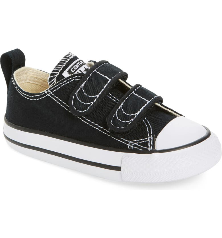 CONVERSE Chuck Taylor<sup>®</sup> Double Strap Sneaker, Main, color, BLACK