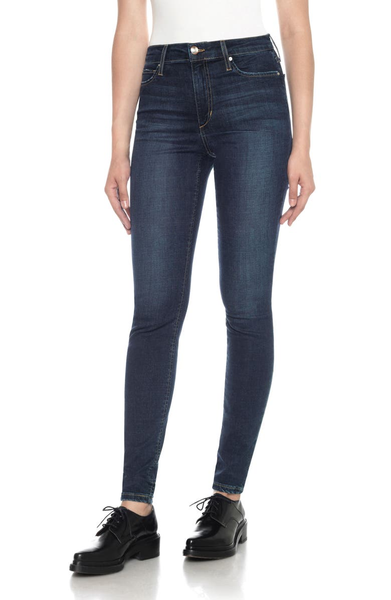 JOE'S Flawless - Charlie High Rise Ankle Skinny Jeans, Main, color, TANIA