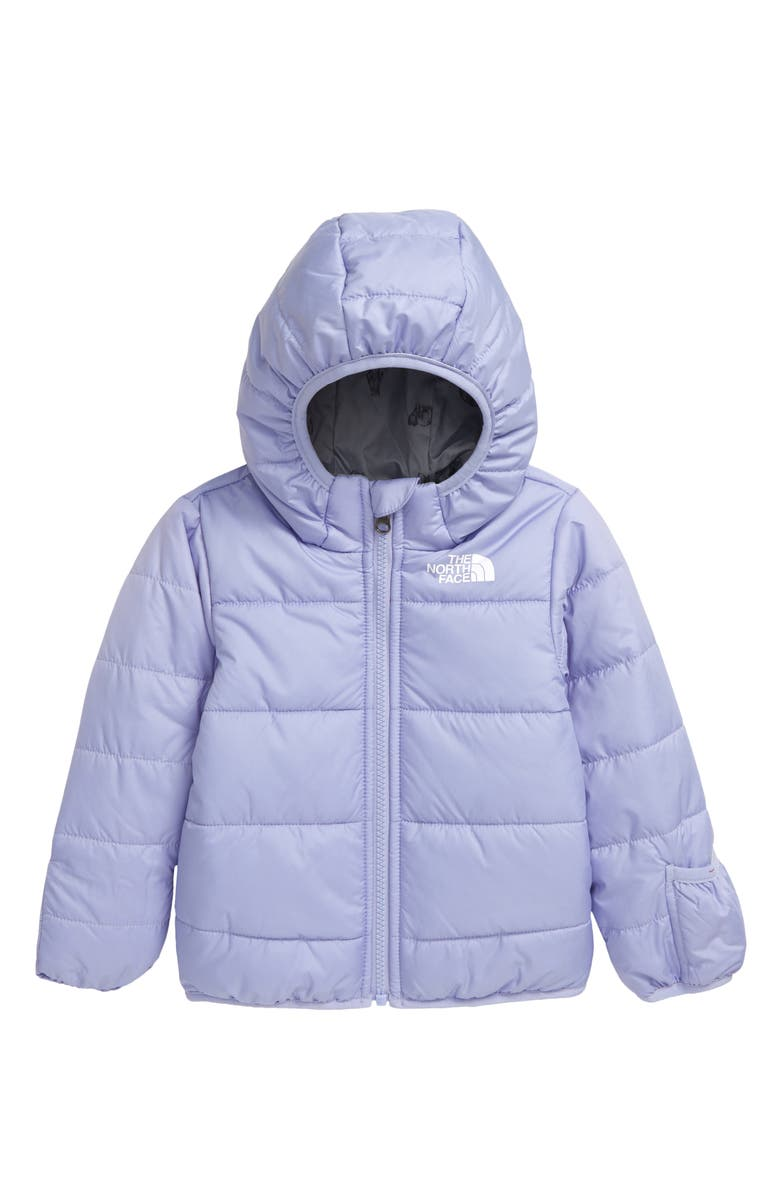 THE NORTH FACE Perrito Reversible Water Repellent Hooded Jacket, Main, color, 510