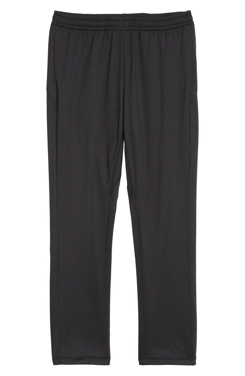 ZELLA 'Pyrite' Tapered Fit Knit Athletic Pants, Main, color, 001