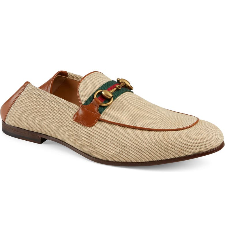 GUCCI New Jordaan Convertible Loafer, Main, color, 105