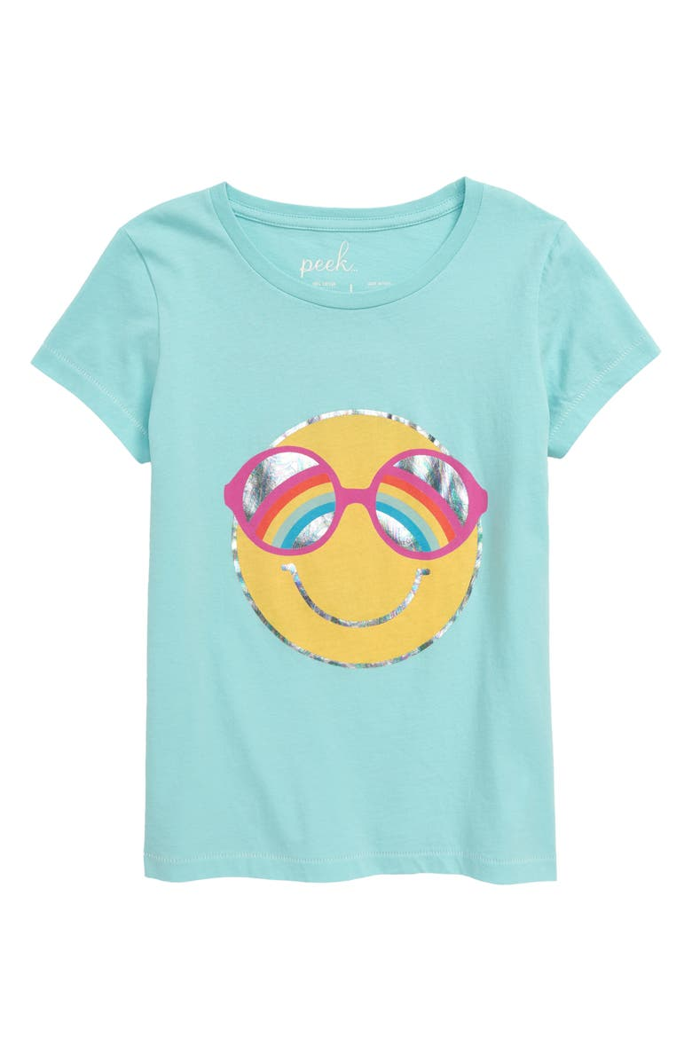 PEEK AREN'T YOU CURIOUS Happy Graphic Tee, Main, color, 400