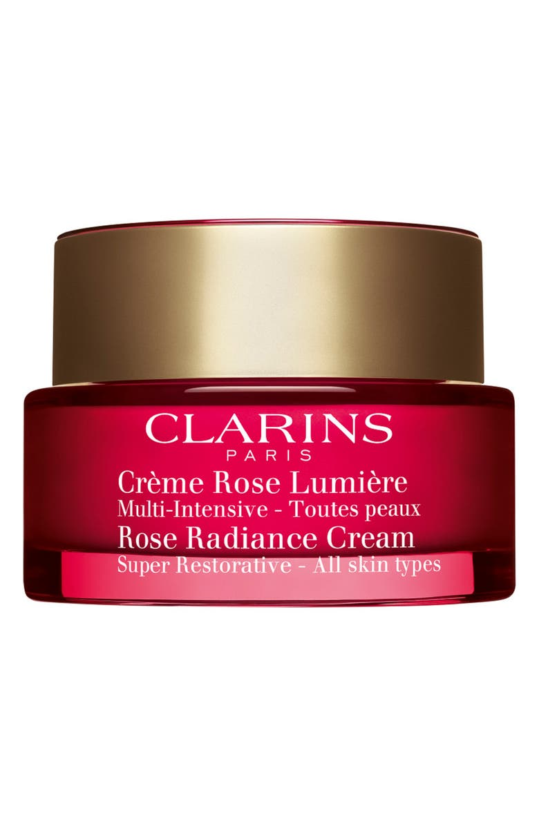CLARINS Rose Radiance Cream, Main, color, NO COLOR