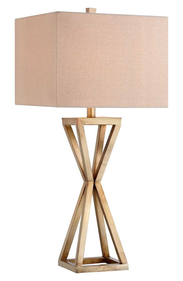JALEXANDER LIGHTING Open Caged Metal Table Lamp, Main, color, 710