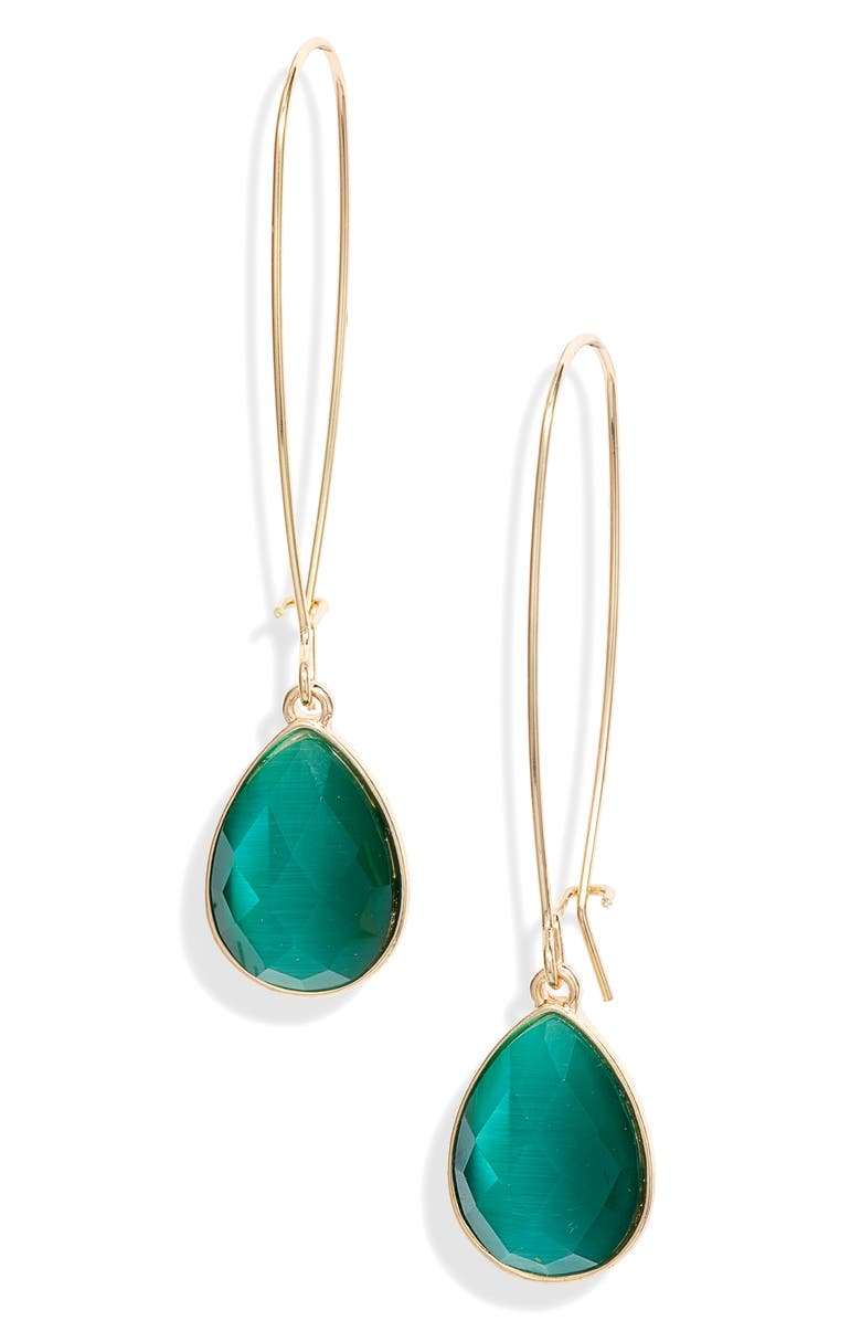 HALOGEN<SUP>®</SUP> Stone Drop Earrings, Main, color, 310