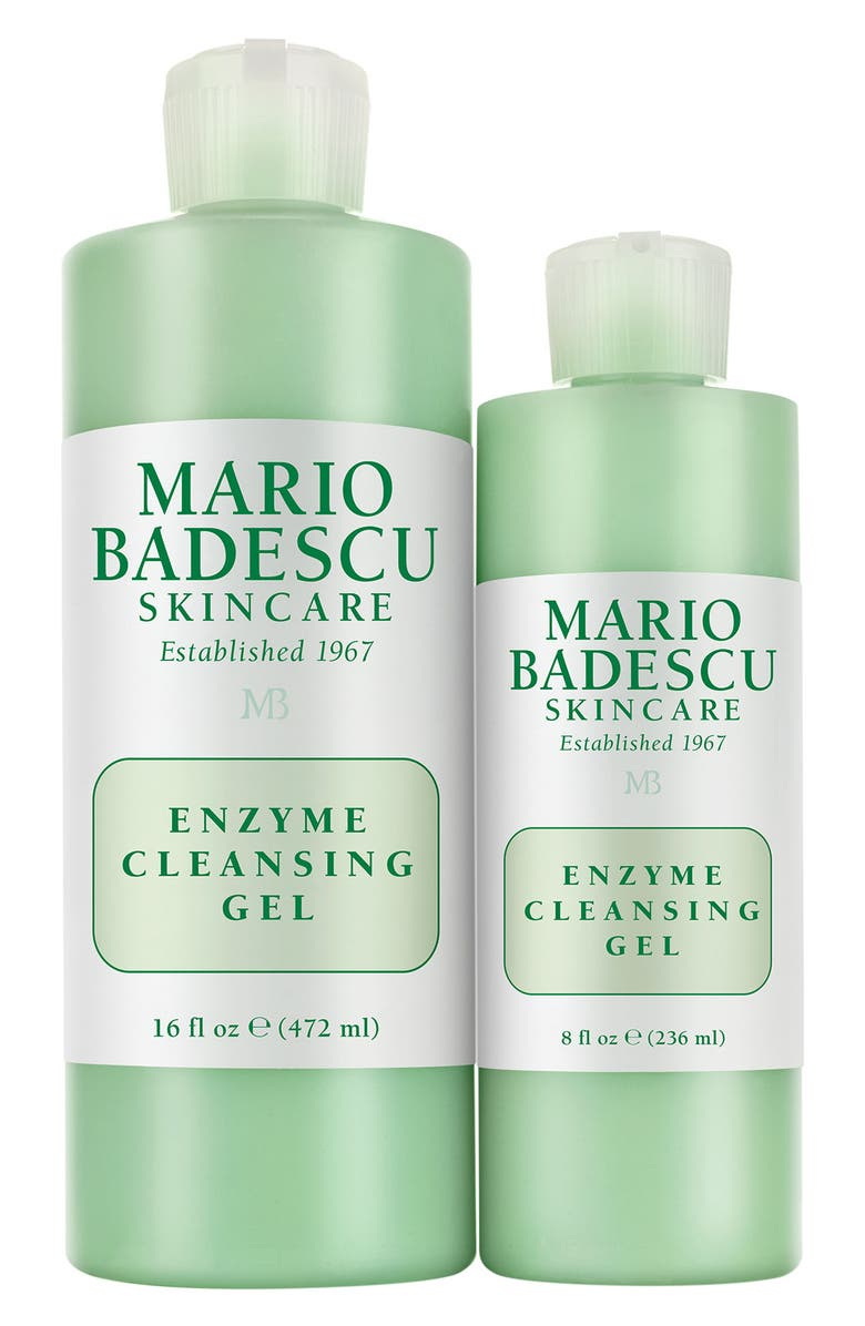 MARIO BADESCU Enzyme Cleansing Gel Duo, Main, color, 000