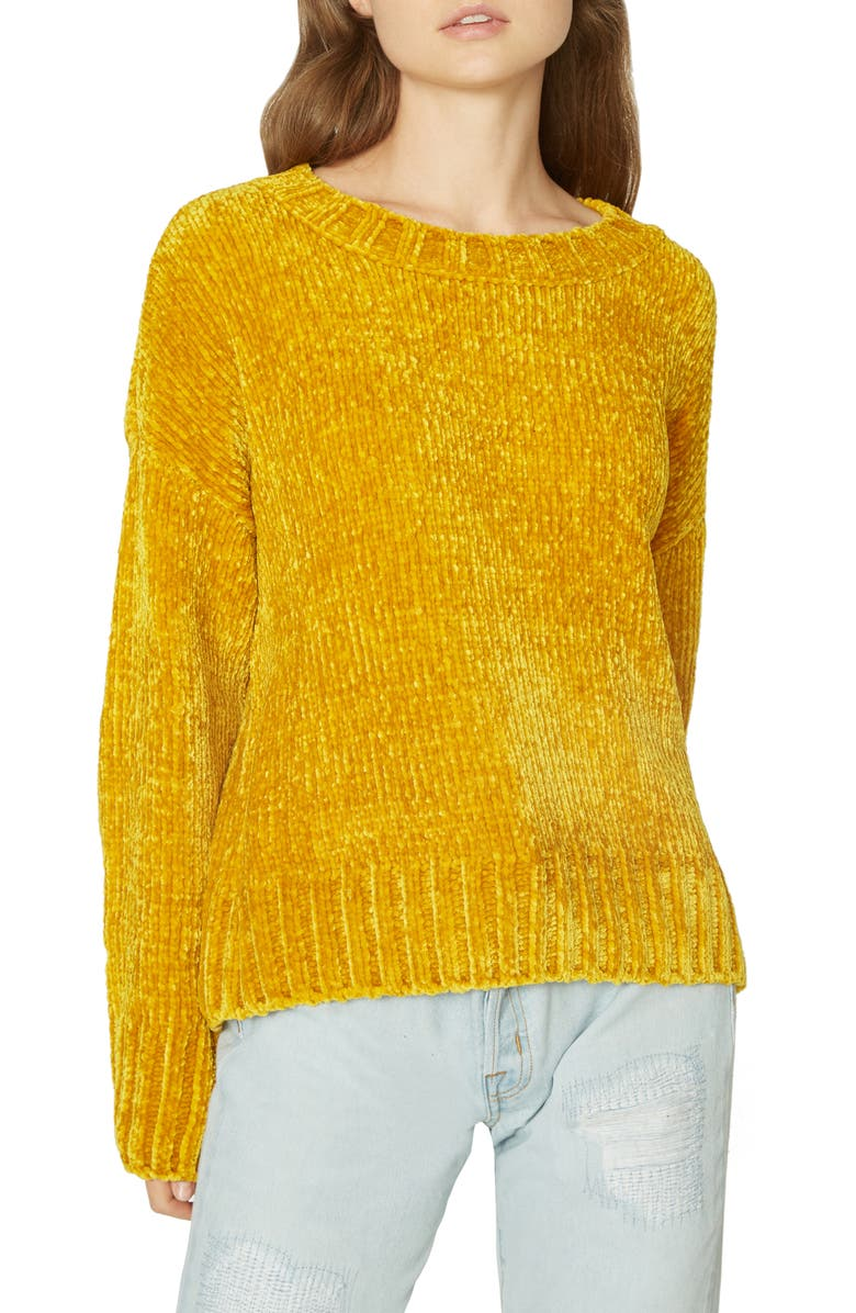 SANCTUARY Chenille Pullover, Main, color, 701