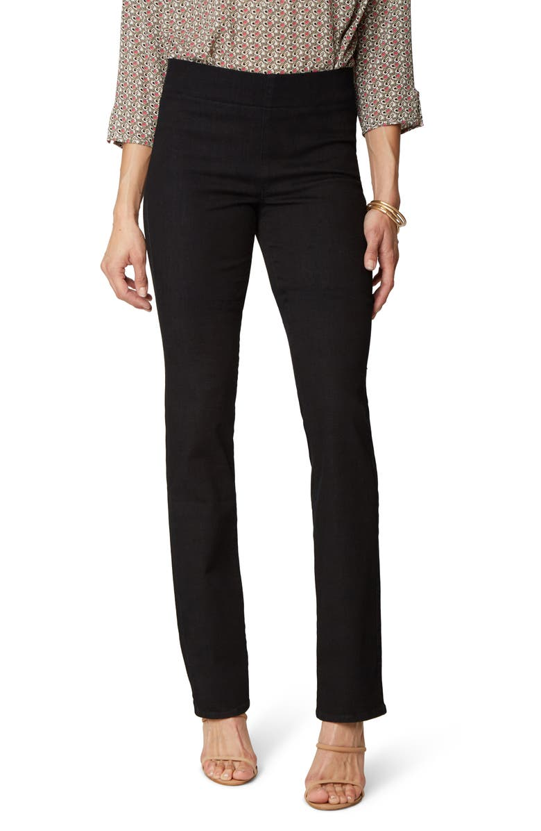 NYDJ NYDY Pull-On Straight Leg Jeans, Main, color, NAUTILUS