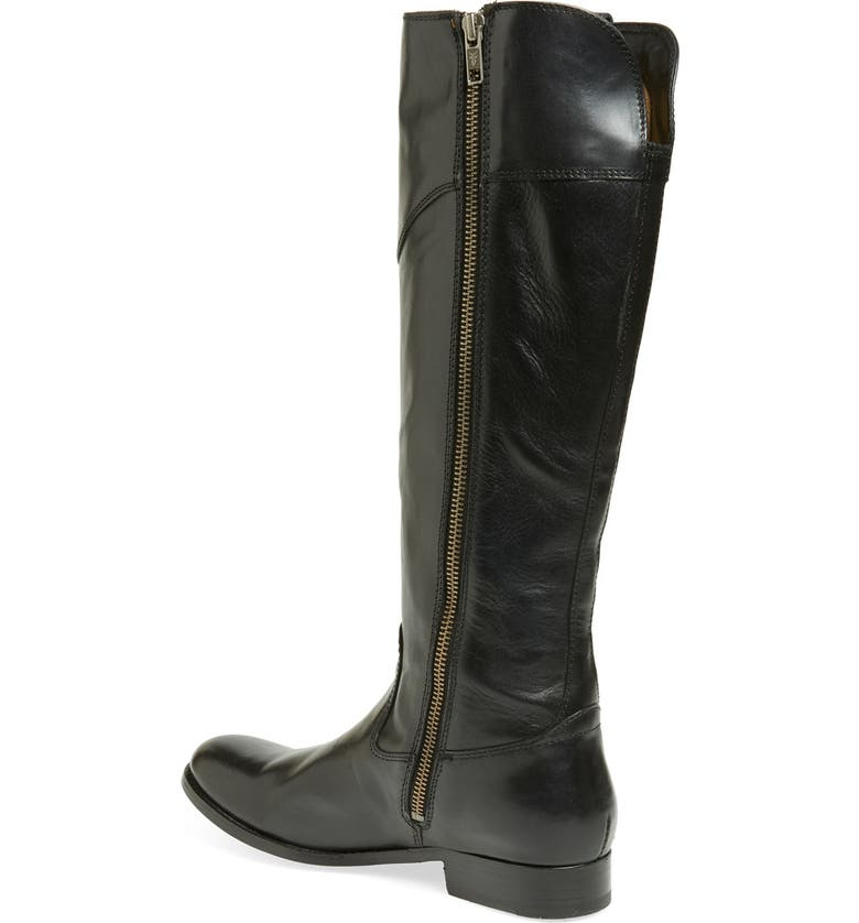 FRYE 'Melissa Tab' Knee High Boot, Main, color, 001