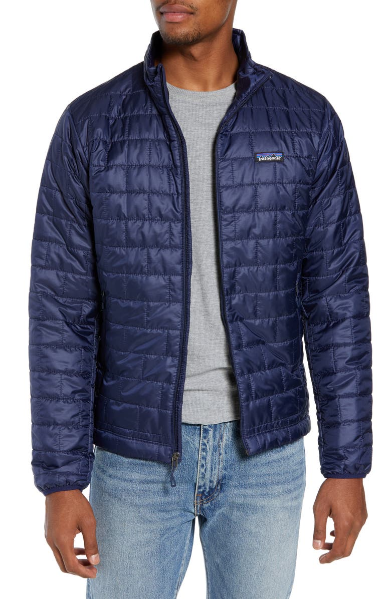 PATAGONIA Nano Puff<sup>®</sup> Water Resistant Jacket, Main, color, CLASSIC NAVY
