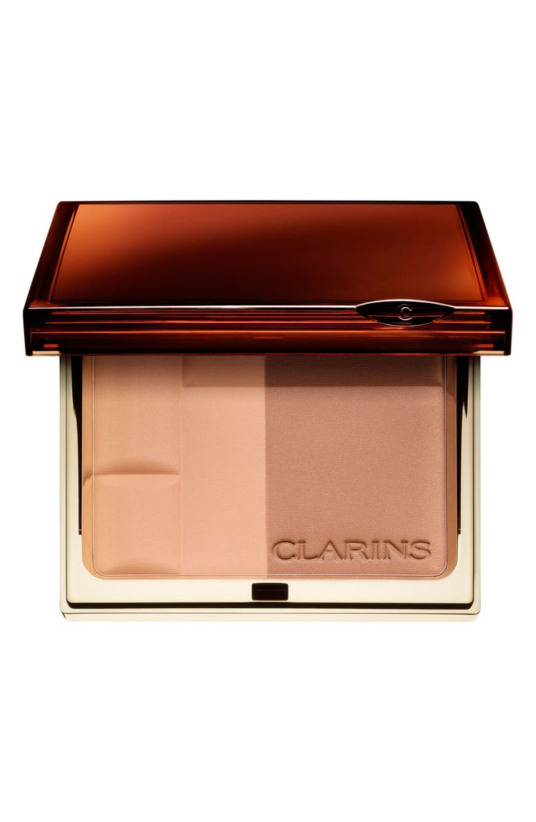 CLARINS Bronzing Powder Duo SPF 15, Main, color, 001
