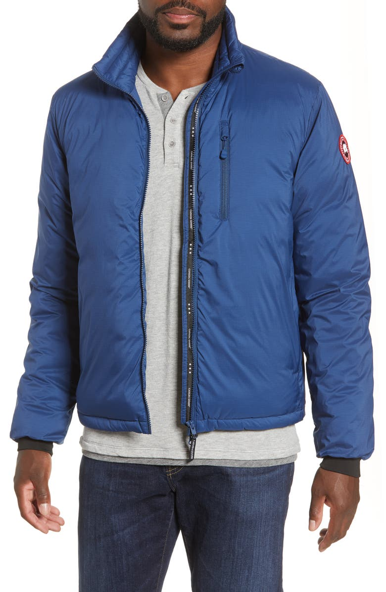 CANADA GOOSE Lodge Packable 750 Fill Power Down Jacket, Main, color, NORTHERN NIGHT