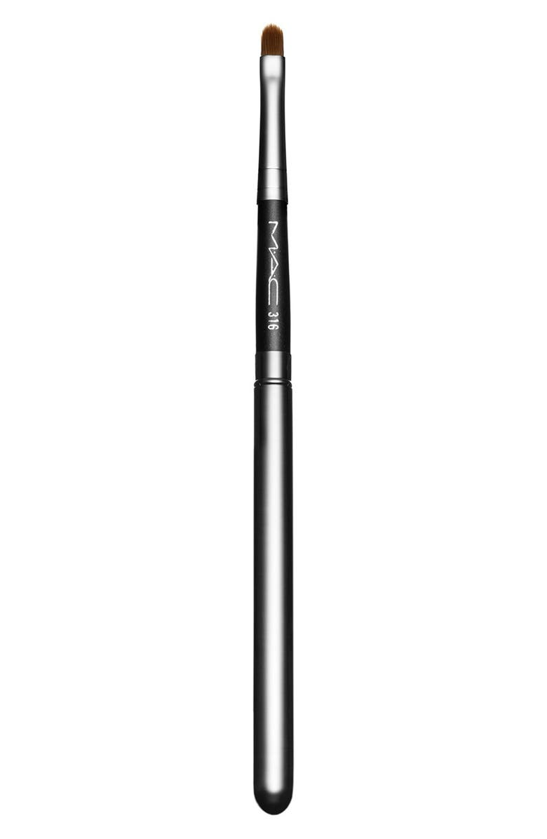 MAC COSMETICS MAC 316 Lip Brush, Main, color, NO COLOR