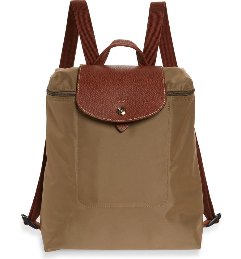 LONGCHAMP 'Le Pliage' Backpack, Main, color, DESERT