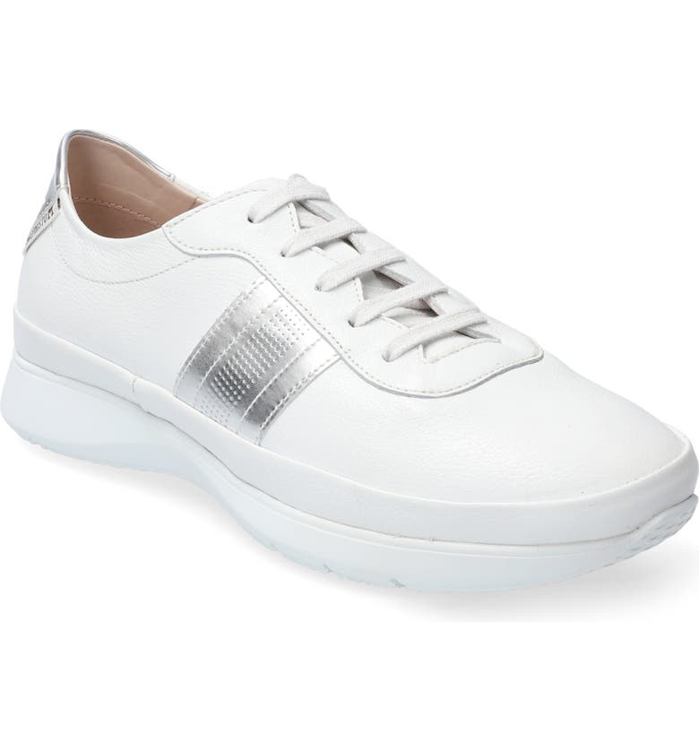 MEPHISTO Merania Sneaker, Main, color, WHITE LEATHER