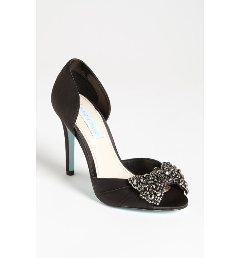 BETSEY JOHNSON Blue by Betsey Johnson 'Gown' Sandal, Main, color, 009